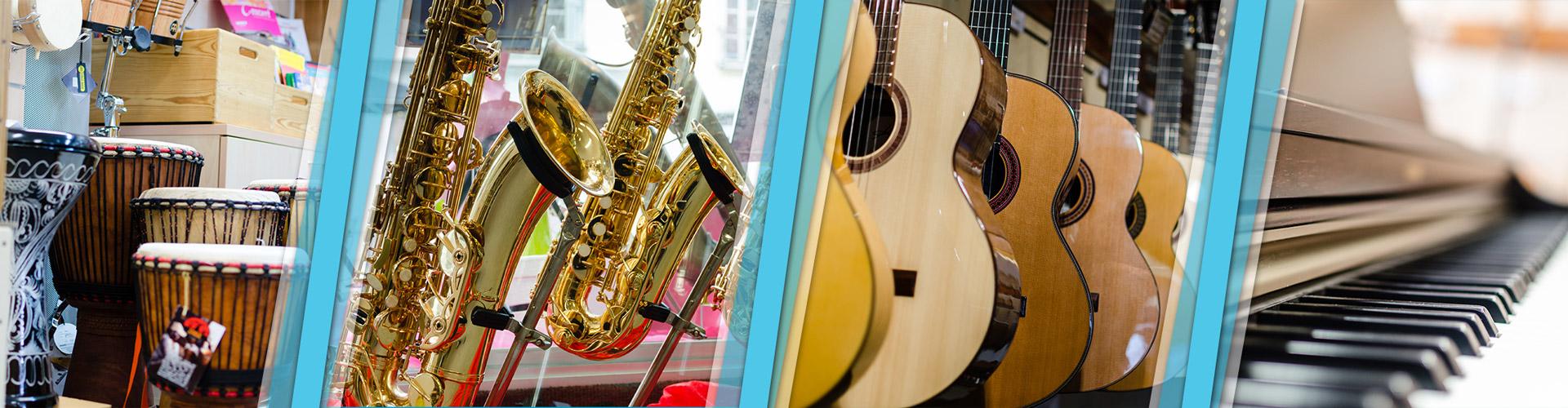Un large choix d'instruments de musique | Rousseau Musique