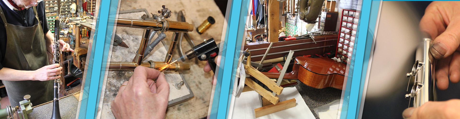 Un atelier de réparation spécialisé | Rousseau Musique